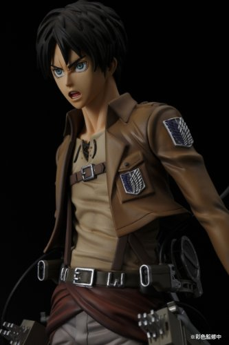 Image 7 for Shingeki no Kyojin - Eren Yeager - BRAVE-ACT - 1/8 (Sentinel)