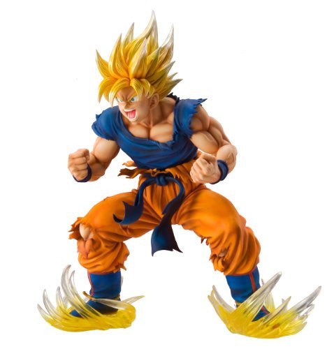 Image 1 for Dragon Ball Kai - Son Goku SSJ - Super Figure Art Collection - 1/8 (Medicos Entertainment)