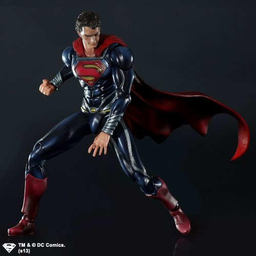 Image 3 for Man of Steel - Superman - Play Arts Kai (Square Enix)