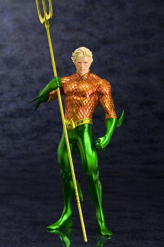 Image 12 for Justice League - Aquaman - DC Comics New 52 ARTFX+ - 1/10 (Kotobukiya)