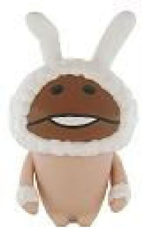 Image for Osawari Tantei Nameko Saibai Kit - Shiro Usagi Nameko - Soft Vinyl Figure (Ensky)