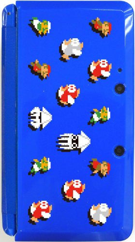Image 2 for Body Cover 3DS Type F (Super Mario Bros. Blue)