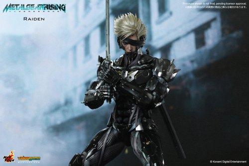 Image 4 for Metal Gear Rising: Revengeance - Raiden - VideoGame Masterpiece VGM17 - 1/6 (Hot Toys)