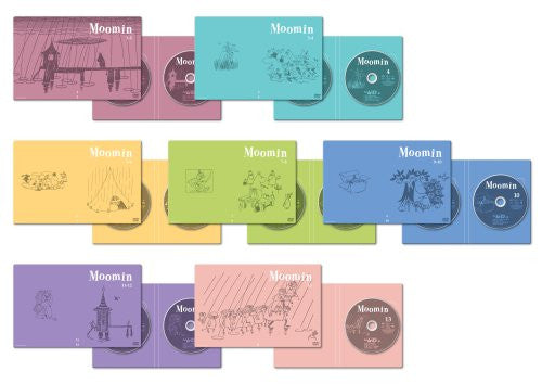 Image 2 for Tove Marika Jansson No Tanoshi Moomin Ikka Box Set Part 1 of 2 [Limited Edition]