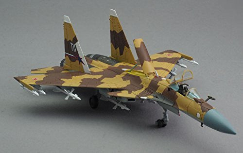 "Image 7 for GiMIX Aircraft Series - AC601 - Russian Air Force Su-37 - 1/144 - Flanker E2  ""711"" (Tomytec)"