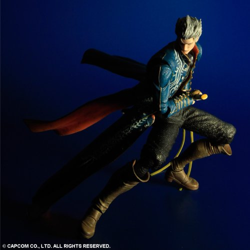 Image 4 for Devil May Cry 3 - Vergil Sparda - Play Arts Kai (Square Enix)