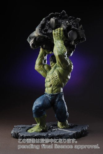 Image 5 for The Incredible Hulk Movie - Hulk - Fine Art Statue - Movie Ver. (Kotobukiya)