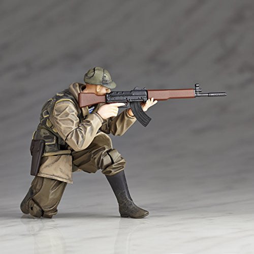 Image 4 for Metal Gear Solid V: The Phantom Pain - Soldier (Soviet Army) - Revolmini rmex-002 - Revoltech (Kaiyodo)