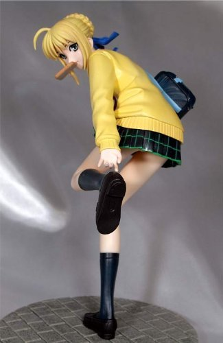 Fate/Stay Night - Saber - 1/8 - High School Girl Hobby Japan Exclusive