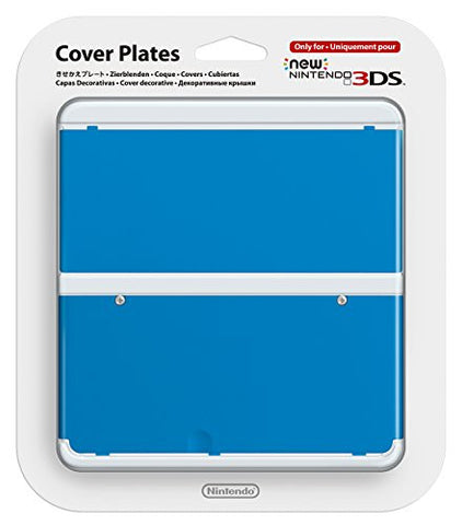 Image for New Nintendo 3DS Cover Plates No.010 (Blue)