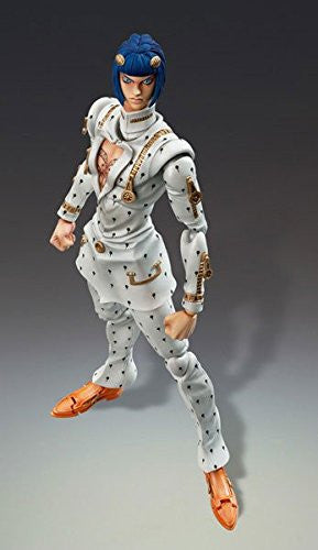Image 1 for Jojo no Kimyou na Bouken - Ougon no Kaze - Bruno Buccellati - Mario Zucchero - Super Action Statue #33 (Medicos Entertainment)