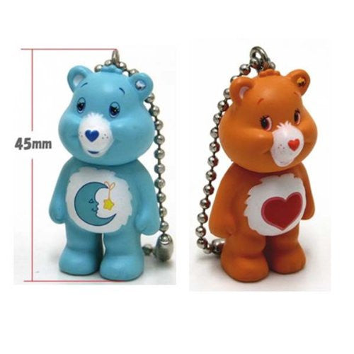 Image 3 for Care Bears - Grumpy Bear - Care Bears Mini Keychain Collection - Keyholder (Cube)