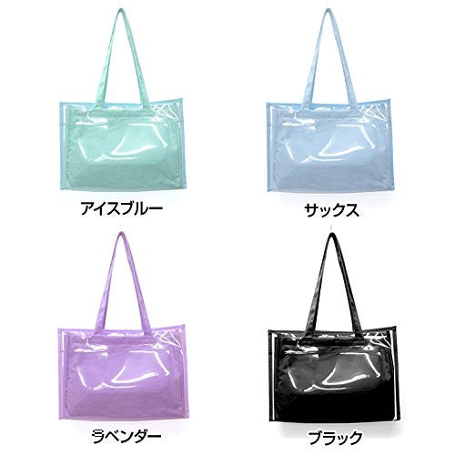 Image 3 for Ita Bag - Clear Tote Bag - Candy Pink