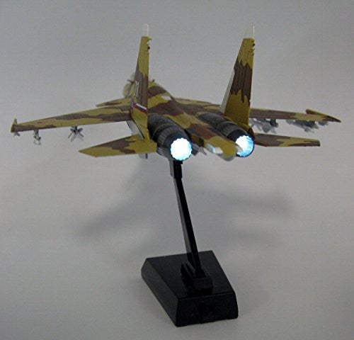 "Image 2 for GiMIX Aircraft Series - AC601 - Russian Air Force Su-37 - 1/144 - Flanker E2  ""711"" (Tomytec)"
