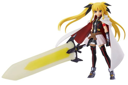 Image 1 for Mahou Shoujo Lyrical Nanoha The Movie 2nd A's - Fate Testarossa - Figma #186 - Blaze Form ver. (Max Factory)