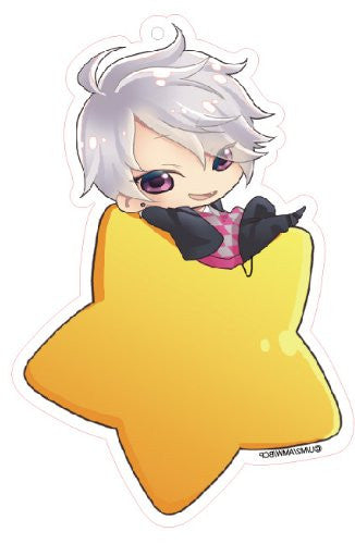 Image 1 for Brothers Conflict - Asahina Tsubaki - Deka Keyholder - Keyholder - Star ver. (Contents Seed)