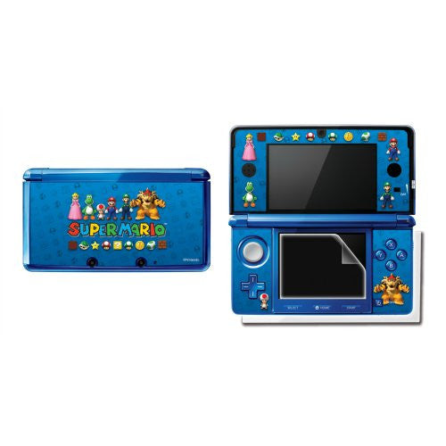 Super Mario Protective Cover 3DS (Blue)
