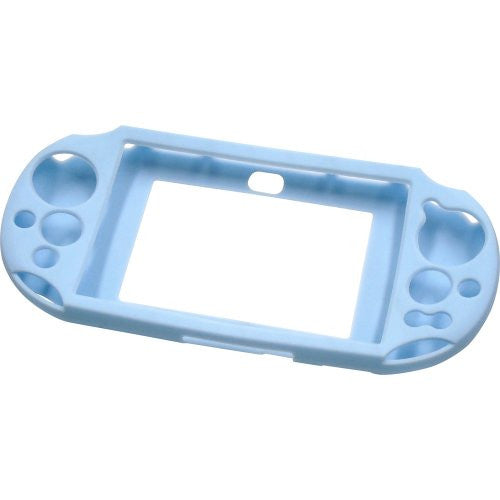 Image 2 for Silicon Jacket for PlayStation Vita Slim (Light Blue)