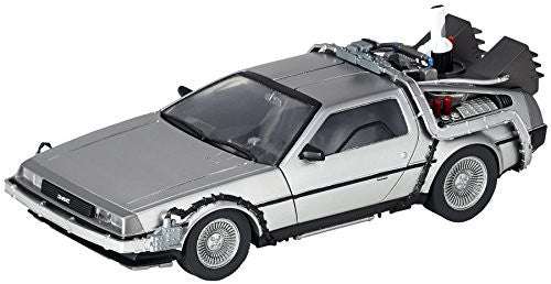 Image 1 for Back to the Future Part II - DeLorean Time Machine - Figure Complex Movie Revo No.001 - Revoltech (Kaiyodo)