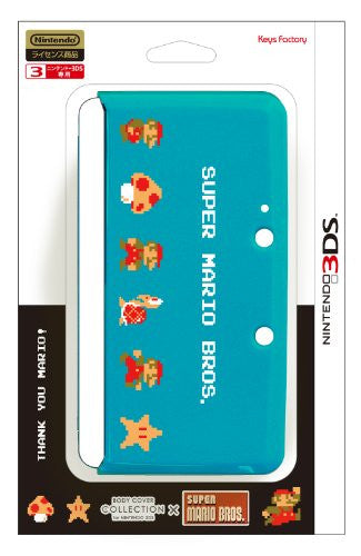 Image 1 for Body Cover 3DS Type G (Super Mario Bros. Turquoise)
