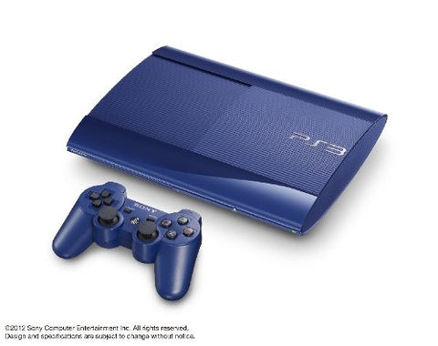 Image for PlayStation3 New Slim Console (250GB Azurite Blue Model) - 110V