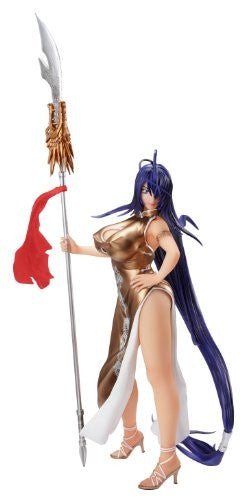 Image 1 for Ikki Tousen Xtreme Xecutor - Kan'u Unchou - 1/4.5 - Chinese Dress Gold Ver. (A+)