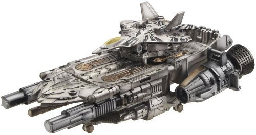 Image 3 for Transformers Darkside Moon - Starscream - Cyberverse - CV03 - Starscream & Orbital Assault Carrier (Takara Tomy)