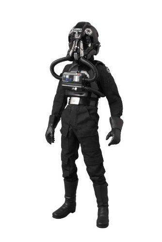"Image 2 for Star Wars - TIE Fighter Pilot - Real Action Heroes #631 - 1/6 - Black 3 ""Backstabber"" (Medicom Toy)"