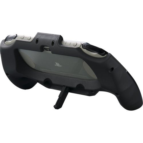 Rubber Coat Grip for PlayStation Vita Slim (Black)