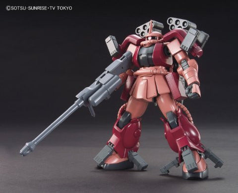 Image for Gundam Build Fighters - MS-06R-AB Zaku Amazing - HGBF #002 - 1/144 (Bandai)