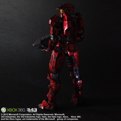Image 4 for Halo: Combat Evolved - Spartan Mark V - Play Arts Kai - Red (Microsoft Square Enix)