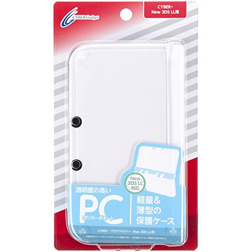 Image 1 for Protect Cover for New 3DS LL (Clear)