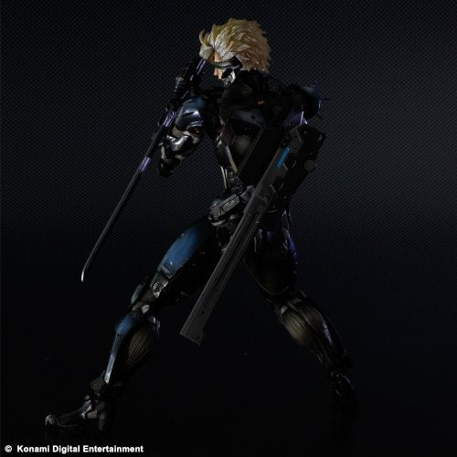 Image 7 for Metal Gear Rising: Revengeance - Raiden - Play Arts Kai - Black Armour ver. (Square Enix)