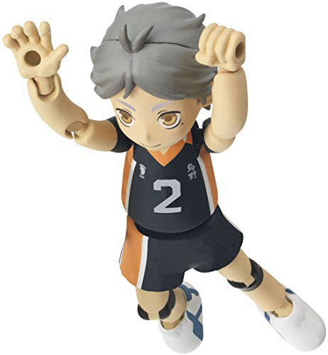 Image 1 for Haikyuu!! - Sugawara Koushi - Playgure PG05 (Takara Tomy)