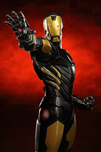 The Avengers - Iron Man - ARTFX+ - Marvel The Avengers ARTFX+ - 1/10 - Black  x Gold (Kotobukiya)
