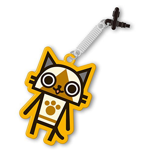 Image 1 for Monster Hunter 4G Pin Jack Mascot Cleaner (Airou)