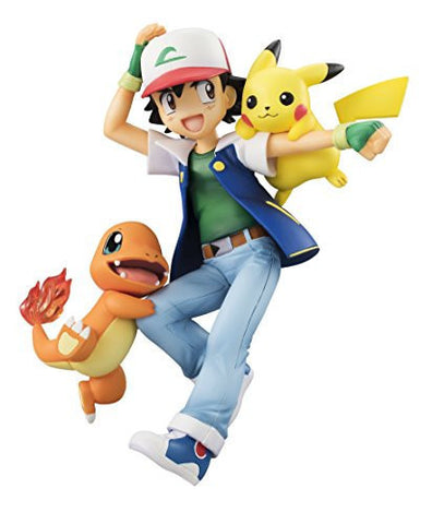 Image for Pocket Monsters - Hitokage - Pikachu - Satoshi - G.E.M. (MegaHouse)