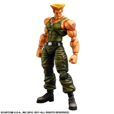 Image for Super Street Fighter IV - Guile - Play Arts Kai (Square Enix)