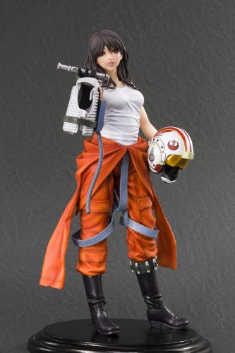 Image 5 for Star Wars - Jaina Solo - ARTFX Statue - Bishoujo Statue - Movie x Bishoujo - 1/7 (Kotobukiya)