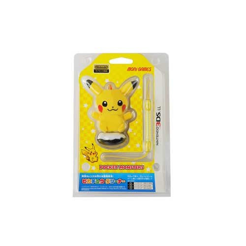Image 1 for 3DS LL Pikachu Cleaner