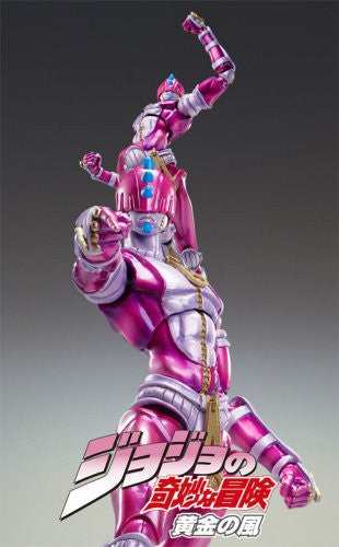 Image 2 for Jojo no Kimyou na Bouken - Vento Aureo - Sticky Fingers - Super Action Statue #43 - Second Ver. (Medicos Entertainment)