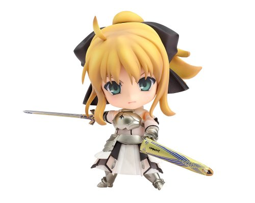 Image 1 for Fate/Unlimited Codes - Fate/Stay Night - Saber Lily - Nendoroid #077 (Good Smile Company)