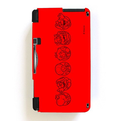 Image 3 for Body Cover 3DS Type A (Super Mario Red)