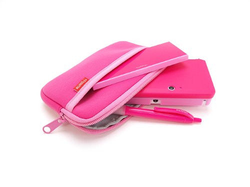 Image 6 for Palette Rubber Hardcover for 3DS (Rose Pink)