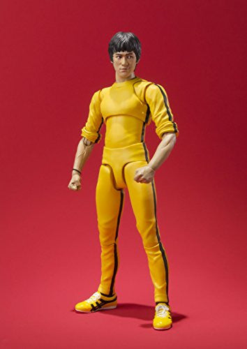 Image 8 for Game of Death - Bruce Lee - S.H.Figuarts - Yellow Track Suit (Bandai)