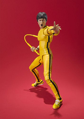 Image 3 for Game of Death - Bruce Lee - S.H.Figuarts - Yellow Track Suit (Bandai)