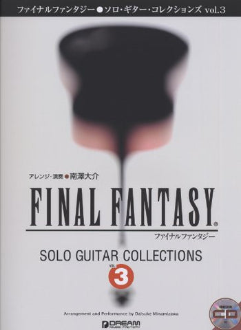 Image for Final Fantasy   Solo Guitar Collections 3 Book Plus Cd