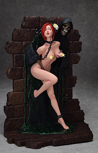 "Image 7 for Shungo Yazawa Original Figure Series - Hell Seducer ""Toraware no Hana"" - 1/6 - Red Hair ver. (Blackberry)"