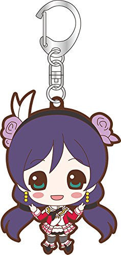 Image 1 for Love Live! School Idol Project - Toujou Nozomi - Keyholder - Rubber Keychain (Broccoli)