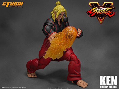 Image 12 for Street Fighter V - Ken Masters - 1/12 (Storm Collectibles)